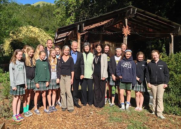 William McDonough at San Domenico School 4-17-13
