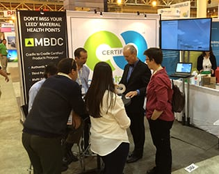 MBDC booth