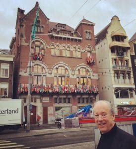 William McDonough at the Fashion For Good Center in Amsterdam